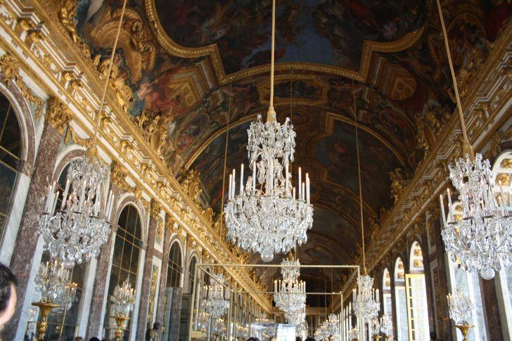 El sal n de los espejos o gran galeria de versalles el for Salon los espejos