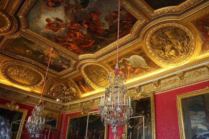 El sal n de marte el palacio de versalles for Salon los espejos